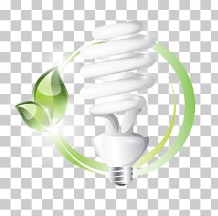 Incandescent Light Bulb Energy Conservation Energy Saving Lamp Compact Fluorescent Lamp PNG