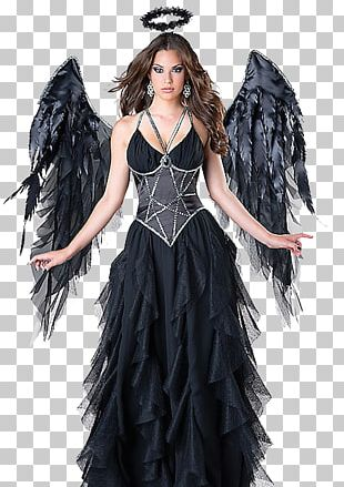 Halloween Costume Fallen Angel Clothing PNG
