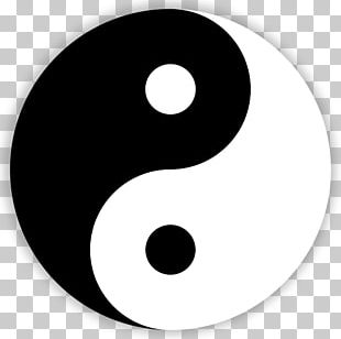 Yin And Yang Symbol Drawing PNG