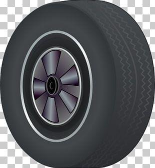 Car Tire Wheel PNG