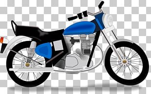 Motorcycle Chopper PNG