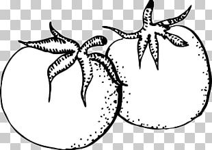 Black And White Vegetable Open PNG