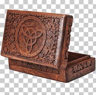 Wooden Box Casket Jewellery PNG