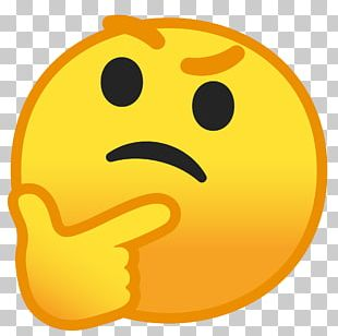 Emoji Emoticon Thought Smiley Puck It! PNG