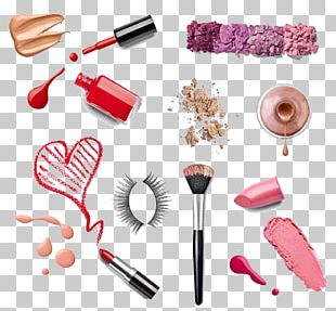 Lipstick Cosmetics Make-up Nail Polish PNG