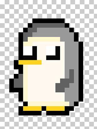 Pixel Penguin Pixel Art PNG