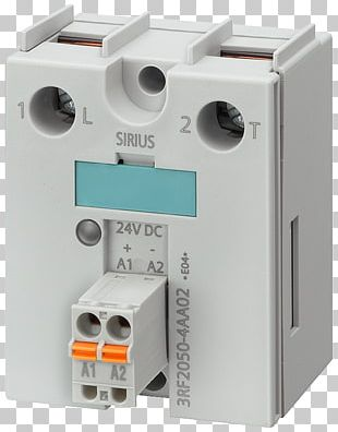 circuit breaker solid-state relay solid-state electronics siemens png