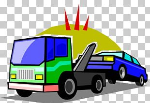 Car Tow Truck Towing Vehicle Roadside Assistance PNG
