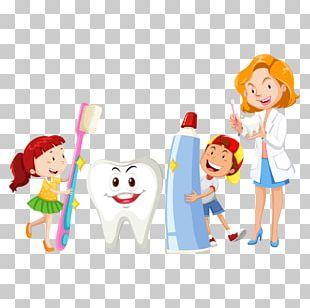 Dentistry Oral Hygiene Cartoon PNG