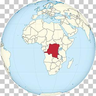 Democratic Republic Of The Congo Congo River Globe World PNG