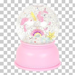 Unicorn Horn Snow Globes Child Toy PNG