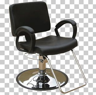 Barber Chair Hair Iron Beauty Parlour Recliner PNG