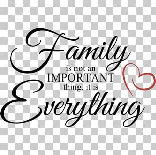 Family Is Not An Important Thing PNG