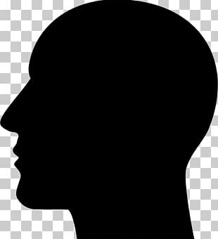 Silhouette Human Head PNG