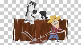 Horse Illustration Cartoon Human Behavior Figurine PNG