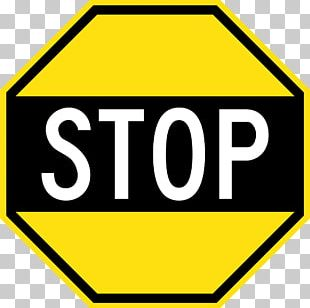 United States Car Stop Sign Traffic Sign PNG
