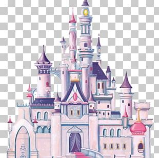 Wall Decal Disney Princess Cinderella Castle PNG