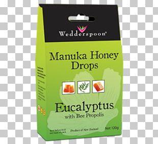 Wedderspoon Organic Manuka Honey Drops Bee Mānuka Honey PNG
