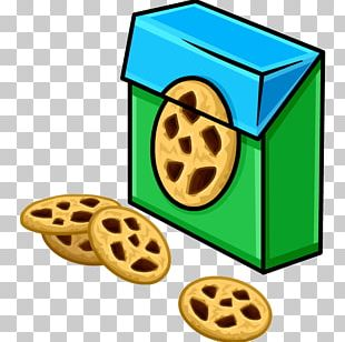 Club Penguin Chocolate Chip Cookie Chocolate Brownie Biscuits PNG