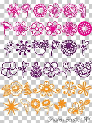 Flower Open-source Unicode Typefaces Font PNG