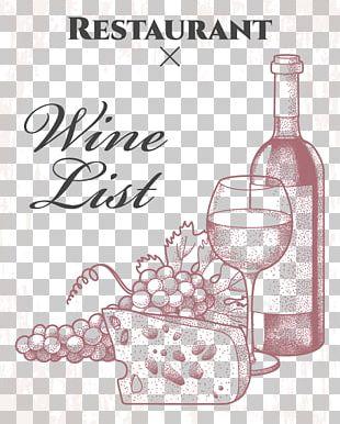 Wine Glass Italian Cuisine Wine List PNG