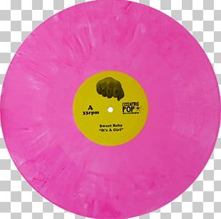 Yellow Magenta Purple Violet Compact Disc PNG