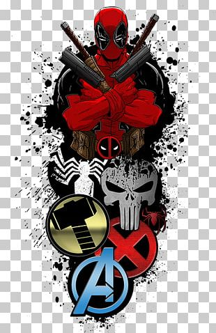 Deadpool Superhero Graphic Design Desktop PNG