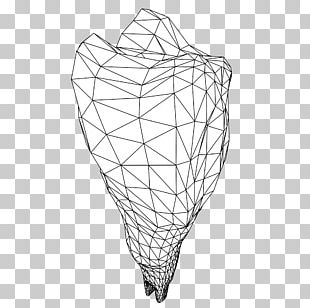 Line Drawing Symmetry Pattern PNG