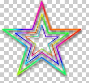 Neon Star PNG