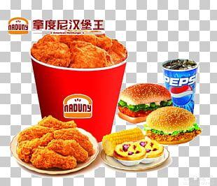 Hamburger Chicken Nugget KFC Onion Ring Fast Food PNG