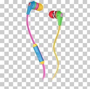 Microphone Skullcandy INK'D 2 Headphones Skullcandy Riot PNG