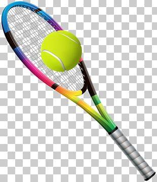 Racket Tennis Ball Tennis Ball PNG
