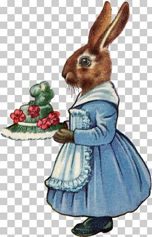 Domestic Rabbit Easter Bunny Hare Kuchen PNG