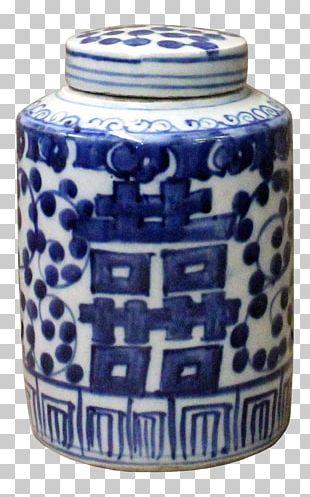 Blue And White Pottery Ceramic Cobalt Blue Mug Porcelain PNG