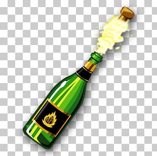 Champagne Beer Bottle Thepix Wine PNG