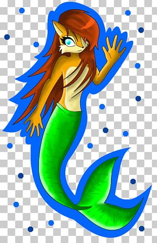 Mermaid Illustration Fish Tail PNG