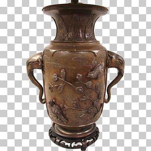 Vase Ceramic Bronze Antique Urn PNG