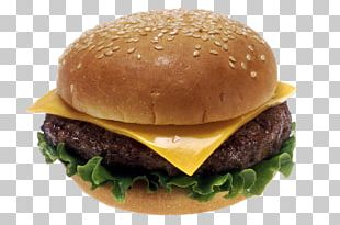Cheeseburger Hamburger Veggie Burger Breakfast Sandwich Buffalo Burger PNG