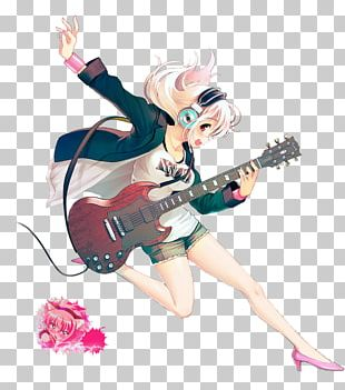 Super Sonico Anime Manga Art PNG