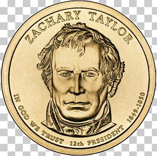 Zachary Taylor United States Of America Presidential $1 Coin Program President Of The United States PNG