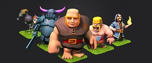 Clash Of Clans Brawl Stars Desktop High-definition Television PNG