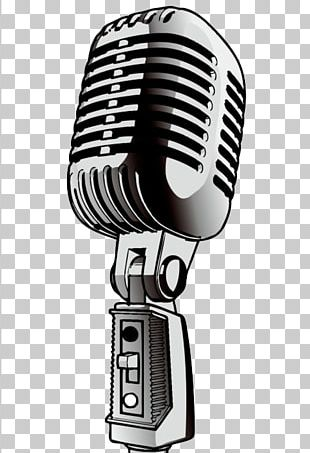 Microphone Cartoon Voice Actor PNG