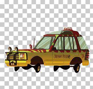 Car Ford Explorer Jurassic Park Film PNG