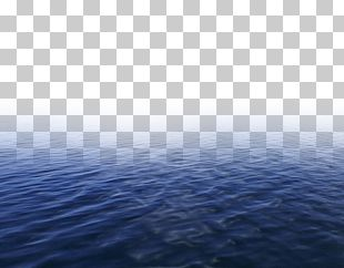 Water Resources Blue Sky Sea Pattern PNG