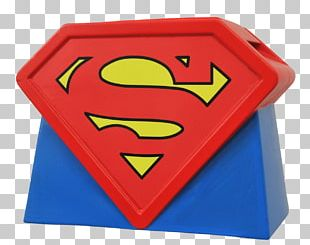 Superman Logo Biscuit Jars Diamond Select Toys Action & Toy Figures PNG