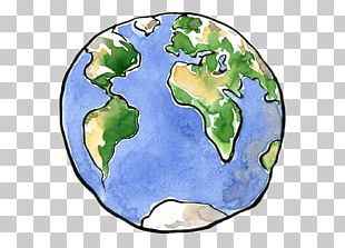 Earth Drawing Planet PNG