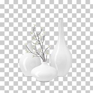 Vase White PNG