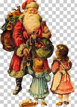 Santa Claus Vintage Christmas Christmas Day Portable Network Graphics PNG