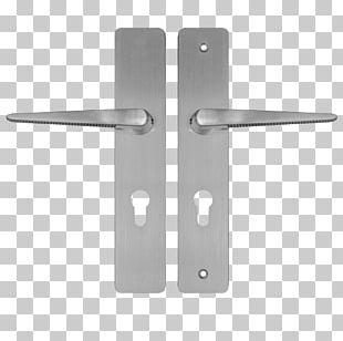 Door Handle Schutzbeschlag Lock Builders Hardware Aluminium PNG