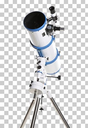 Reflecting Telescope Equatorial Mount Meade Instruments Newtonian Telescope PNG